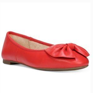 Circus Sam Edelman Ciera red bow flats I Size 6